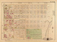 Plate 32, East Capitol St. - Washington DC 1921 Atlas Old Map Reprint - Baist Vol.2