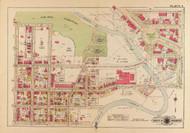 Plate 3, Oak Hill Cemetery - Washington DC 1919 Atlas Old Map Reprint - Baist Vol.3