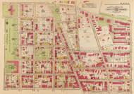 Plate 4, Montrose Park - Washington DC 1919 Atlas Old Map Reprint - Baist Vol.3