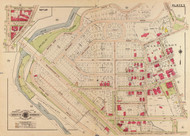 Plate 5, Washington Heights - Washington DC 1919 Atlas Old Map Reprint - Baist Vol.3