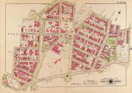 Plate 6, Columbia Road - Washington DC 1919 Atlas Old Map Reprint - Baist Vol.3