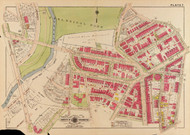 Plate 7, Zoological Park - Washington DC 1919 Atlas Old Map Reprint - Baist Vol.3