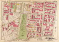 Plate 9, Belmont St. - Washington DC 1919 Atlas Old Map Reprint - Baist Vol.3