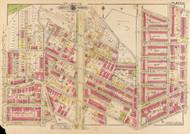 Plate 11, Newton St. - Washington DC 1919 Atlas Old Map Reprint - Baist Vol.3