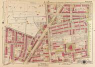 Plate 12, Park View Public School - Washington DC 1919 Atlas Old Map Reprint - Baist Vol.3