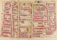 Plate 13, Bruce Public School - Washington DC 1919 Atlas Old Map Reprint - Baist Vol.3