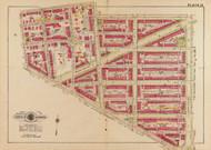Plate 15, LeDroit Park - Washington DC 1919 Atlas Old Map Reprint - Baist Vol.3