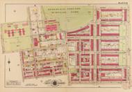 Plate 16, McMillan Park - Washington DC 1919 Atlas Old Map Reprint - Baist Vol.3