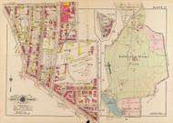 Plate 17, Soldiers Home Park - Washington DC 1919 Atlas Old Map Reprint - Baist Vol.3