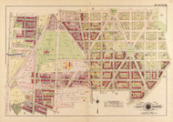 Plate 18, Grant Circle - Washington DC 1919 Atlas Old Map Reprint - Baist Vol.3