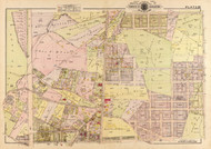 Plate 20, Rittenhouse St. - Washington DC 1919 Atlas Old Map Reprint - Baist Vol.3