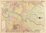 Plate 27, Rock Creek Park - Washington DC 1919 Atlas Old Map Reprint - Baist Vol.3