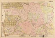 Plate 32, Chevy Chase Land Co. - Washington DC 1919 Atlas Old Map Reprint - Baist Vol.3