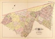 Plate 33, Reno Road - Washington DC 1919 Atlas Old Map Reprint - Baist Vol.3