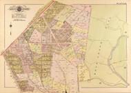 Plate 34, Rock Creek Park - Washington DC 1919 Atlas Old Map Reprint - Baist Vol.3