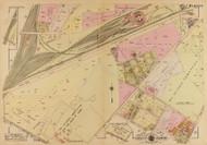 Plate 3, Railroad Engine House - Washington DC 1921 Atlas Old Map Reprint - Baist Vol.4