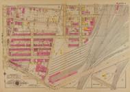 Plate 4, Balt. & Ohio Railroad - Washington DC 1921 Atlas Old Map Reprint - Baist Vol.4
