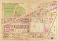Plate 5, Prospect Hill Cemetery - Washington DC 1921 Atlas Old Map Reprint - Baist Vol.4