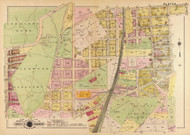 Plate 6, Glenwood Cemetery - Washington DC 1921 Atlas Old Map Reprint - Baist Vol.4