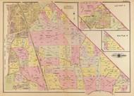 Plate 8, Brookland Ave. - Washington DC 1921 Atlas Old Map Reprint - Baist Vol.4