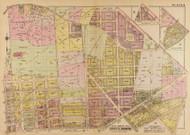 Plate 9, Holy Land College Monastery - Washington DC 1921 Atlas Old Map Reprint - Baist Vol.4
