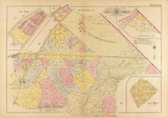 Plate 11, U.S. Reform School Farm - Washington DC 1921 Atlas Old Map Reprint - Baist Vol.4