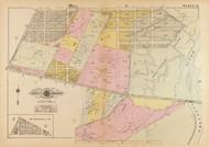 Plate 12, Anacostia River - Washington DC 1921 Atlas Old Map Reprint - Baist Vol.4