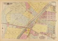 Plate 14, Union Stock Yards - Washington DC 1921 Atlas Old Map Reprint - Baist Vol.4