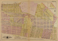 Plate 15, Linwood Heights - Washington DC 1921 Atlas Old Map Reprint - Baist Vol.4