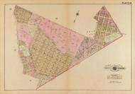 Plate 16, Central Heights - Washington DC 1921 Atlas Old Map Reprint - Baist Vol.4