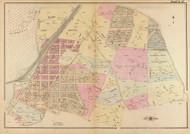 Plate 17, Texas Ave. - Washington DC 1921 Atlas Old Map Reprint - Baist Vol.4