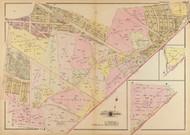 Plate 19, Fort Dupont - Washington DC 1921 Atlas Old Map Reprint - Baist Vol.4