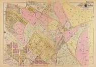 Plate 20, Good Hope Road - Washington DC 1921 Atlas Old Map Reprint - Baist Vol.4