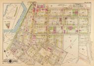 Plate 21, Van Buren School - Washington DC 1921 Atlas Old Map Reprint - Baist Vol.4