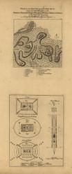 Bushy Run - Revolutionary War Battle, 1763 - Old Map Reprint - USA Jefferys 1768 Atlas 33