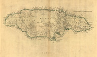 Jamaica, 1768 - Old Map Reprint - USA Jefferys 1768 Atlas 44x