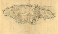 Jamaica, 1768 - Old Map Reprint - USA Jefferys 1768 Atlas 44x