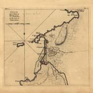 Santa Martha, Columbia, 1768 - Old Map Reprint - USA Jefferys 1768 Atlas 56
