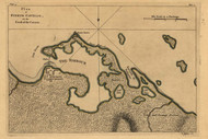 Puerto Cavello, Caracas - Venezuela, 1768 - Old Map Reprint - USA Jefferys 1768 Atlas 57