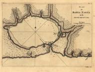 Bahia Xagua - south side of Cuba, 1768 - Old Map Reprint - USA Jefferys 1768 Atlas 66