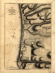 Basse Terre, Guadaloupe, 1768 - Old Map Reprint - USA Jefferys 1768 Atlas 82