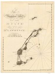 Magdalen Islands, 1781 - USA Regional DB v.2 4