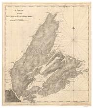 Cape Breton Island, 1781 - USA Regional DB v.2 8