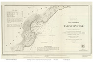 Tarpaulin Cove, 1847 - Old Map Reprint - USA Regional 1854 Coast Survey