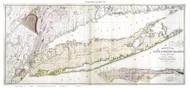 Long Island Geological Map 1842 - Mathers - Old Map Reprint