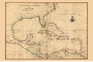 Carribean Islands, 1639 Vinckeboons - USA Regional