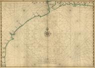 Gulf Coast, 1639 Vinckeboons - USA Regional
