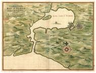 Santiago Bay (Cuba), 1639 Vinckeboons - USA Regional