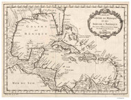 Caribbean 1754 - Bellin (French)