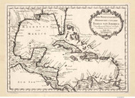 Caribbean 1754 - Bellin (German)